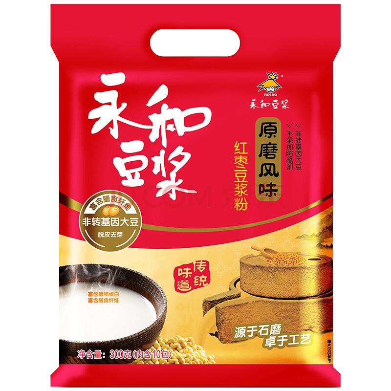 YON HO 永和豆浆 红枣豆浆粉 300g