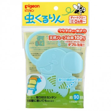 凑单好物!百分百纯天然:Pigeon 贝亲 小象款婴儿挂式驱蚊器 日淘 5.7折 JPY¥461(¥24)