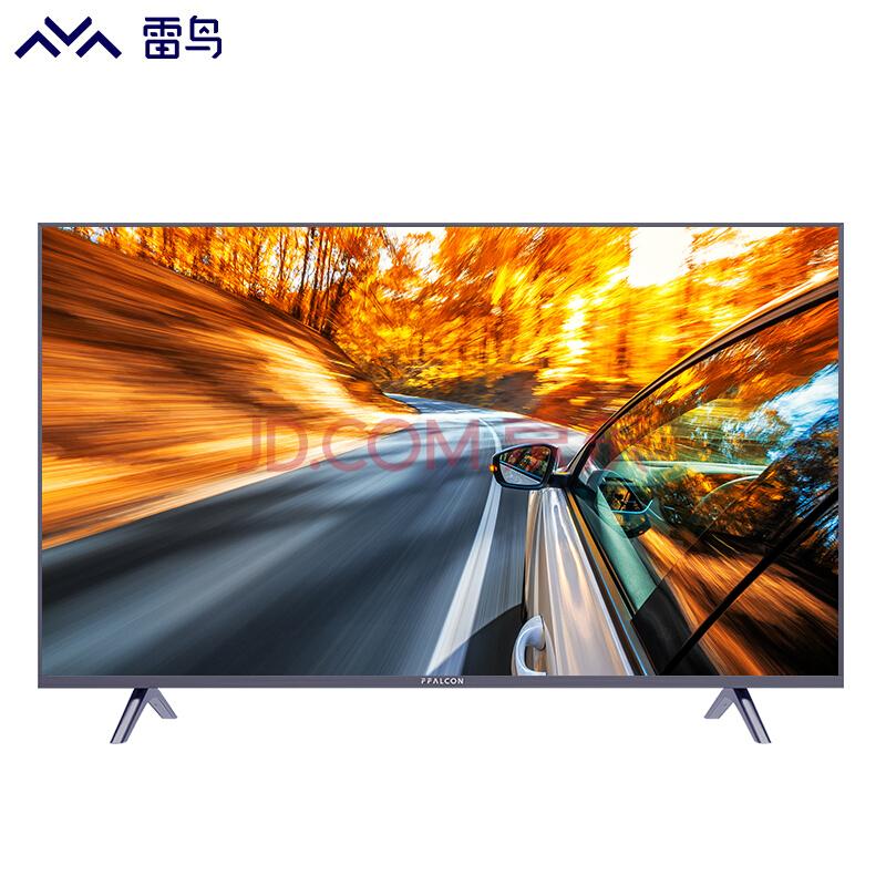 雷鸟FFALCON J55-UI 55英寸 HDR 4K 人工智能 超薄金属边框 智能平板液晶电视灰蓝色¥2787