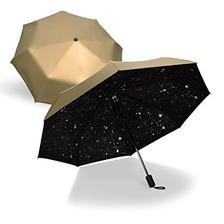HAGGIS 创意星星 三折黑胶伞  券后36.9元