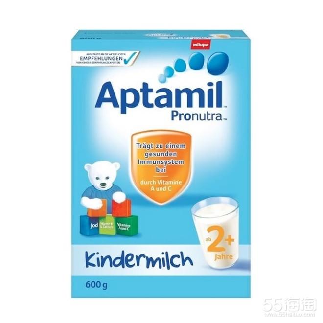 Aptamil 爱他美 幼儿配方奶粉2 600g