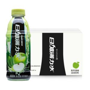 日加满力水运动饮料(青苹果味)600ml*12瓶(整箱) *2件 50元(合25元/件)