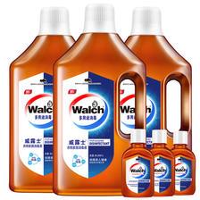 温和清新!威露士衣物家居除菌消毒液3x1L送3支60ml合计3.18L 限时疯狂价59.9元