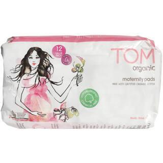 TOM 产妇专用卫生巾12片/盒 *3件 49.35元(合16.45元/件)