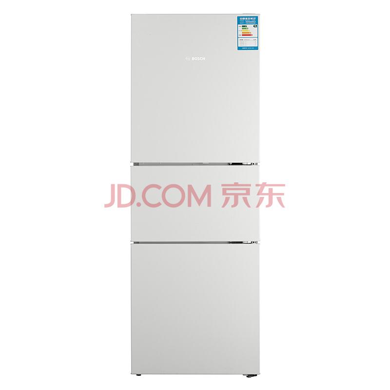 BOSCH 博世 BCD-274KGF28A22EC 274升 三门冰箱 (白色)2799元
