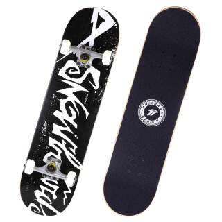 25日10点:运动伙伴 双翘板成人儿童滑板初学者枫木板四轮 黑影 119元
