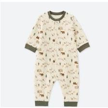 UNIQLO 优衣库 02112 婴儿压线连体衣 59元包邮