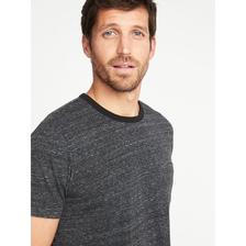 Old Navy男装 多色复古短袖T恤 男士运动上衣222546 2018夏装新款 59元