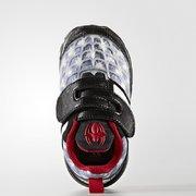 ¥180 6月1号!adidas 阿迪达斯 Marvel Spider-Man K 大童款运动鞋'