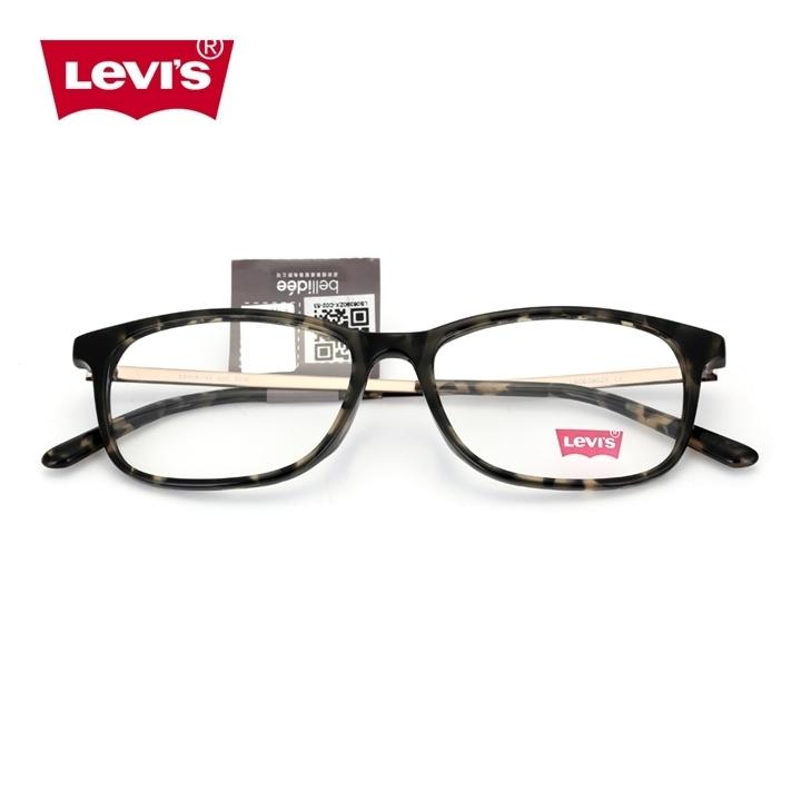 levi's板材眼镜架LS06390ZX-C02-53 219元