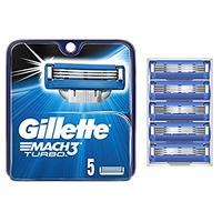 $8.37 包邮 Gillette Mach3 剃须刀替换头 5个