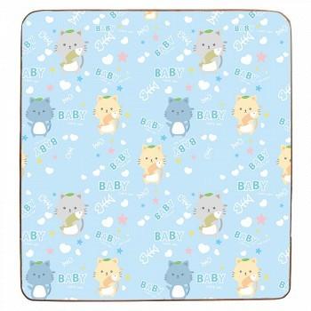 多喜兔 儿童双面包边婴儿童爬行垫200*180*1.0