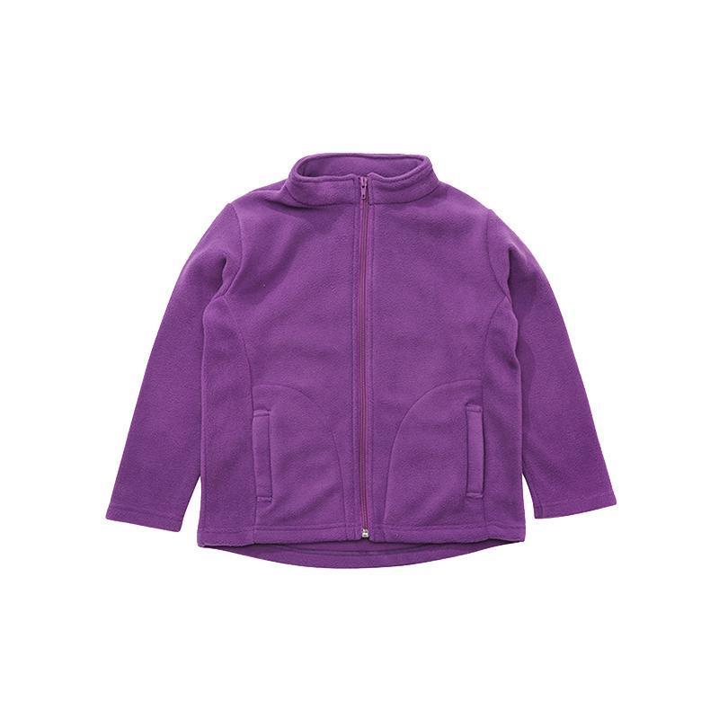 ¥39 Finn+Emma芬妮爱玛开门摇粒绒外套-深灰粉色紫色适合1-5岁