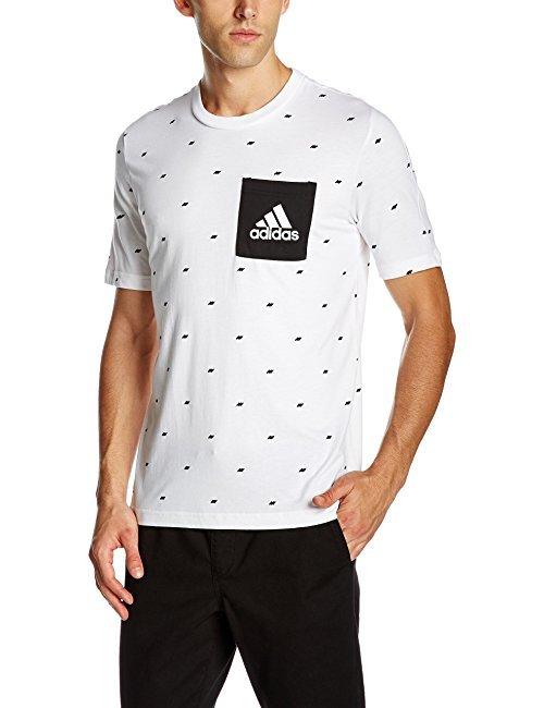 阿迪达斯(adidas) 男式 运动型格 短袖T恤 ESS SEASONAL T 59.8元