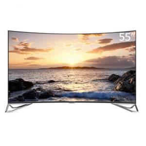 FFALCON 雷鸟 I55C-UI 55英寸 4K 曲面 液晶电视2988元