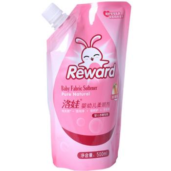 苏宁易购 Reward洛娃 婴 儿柔顺剂水蜜桃香500ml*3袋11.7元包邮 3件起售