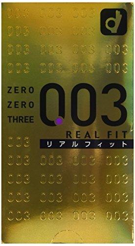 折合44.95元 冈本 003 黄金真贴身超薄安全套避孕套 10只装