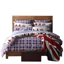 多喜爱新品纯棉磨毛经典条格四件套床上用品保暖套件卢卡 349.00元