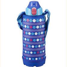 日本进口虎牌TIGER 儿童真空保温杯/直饮杯/户外便携水杯 弹盖男女学生保温
