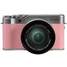 富士(FUJIFILM) X-A10(16-50mm f/3.5-5.6)APS-C画幅无反相机套机 粉色/红色/紫色/