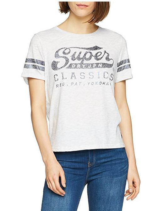 Superdry 极度干燥 女士休闲T恤 凑单直邮约122元 库存少!