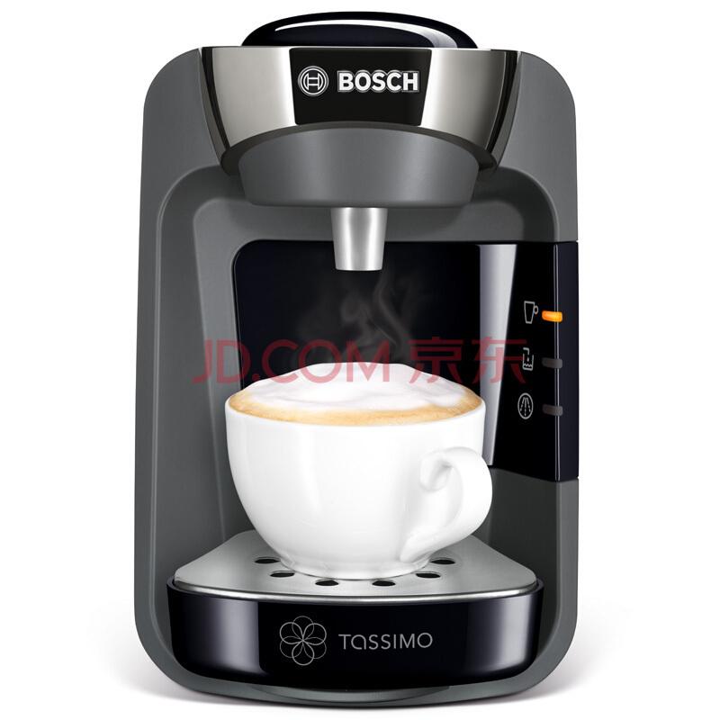 博世(BOSCH)咖啡机Tassimo胶囊咖啡机全自动花式SUNY系列TAS3202CN火山黑¥1199