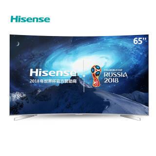 海信(Hisense) LED65EC780UC 65英寸 4K曲面智能电视  券后6199元