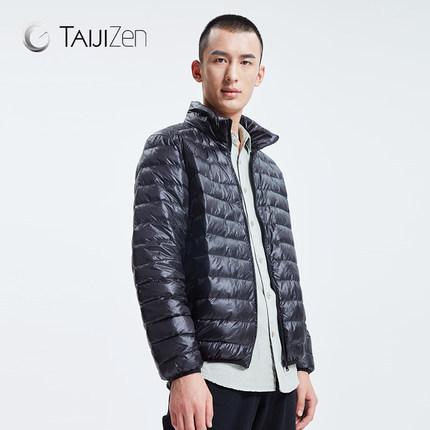 太极禅 2017新款 男士轻薄羽绒服 李连杰创办品牌 ¥109