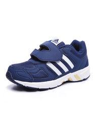 ¥199 adidas阿迪达斯童2017新款男小童4-10岁魔术贴新年款跑步鞋BY1712阿迪达斯(adidas)儿童运动鞋-苏宁易购