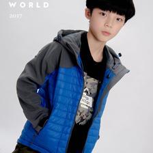 匹克 男女童加厚保暖棉服 ¥89