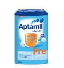 Aptamil 爱他美 婴儿奶粉 Pre段 800克/罐*4罐 345元含税包邮