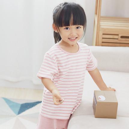 网易严选 草木染儿童短袖套装 ¥50