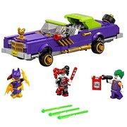 乐高(LEGO) 蝙蝠侠大电影系列 小丑的低底盘汽车 70906 $32.49(约¥280)'