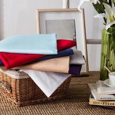 ¥119 当当优品家纺60支贡缎长绒棉纯色床单200x230