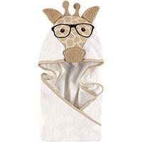 Hudson Baby 学霸长颈鹿浴巾 中性色男宝女宝都可用