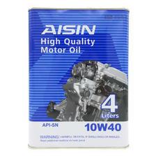 爱信(AISIN)白装高性能机油10W40 SN级 4L 118元