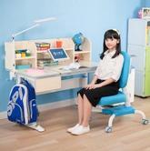 心家宜 大号手摇机械升降儿童学习桌椅套装 M104_M207R ¥1580