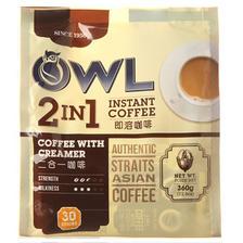 OWL 猫头鹰 2合1即溶咖啡 360g 32元包邮