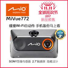 20日0点预售、新品发售:Mio 宇达电通 772 高清夜视 行车记录仪 429元包邮(50