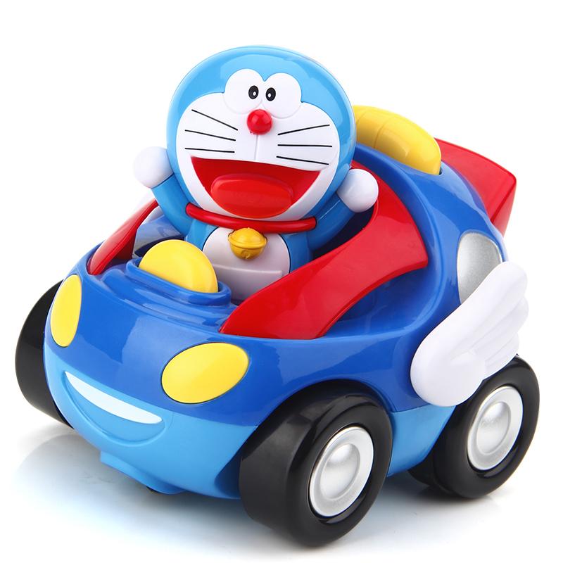 哆啦a梦遥控车玩具 男孩充电电动遥控汽车儿童玩具车宝宝遥控赛车 28元