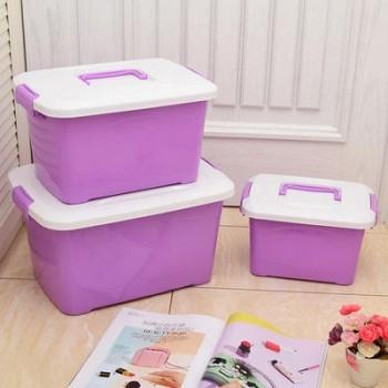 当当网商城 bicoy百草园 便携式收纳箱3件套紫色39.9元包邮