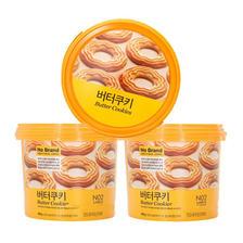 黄金配比!No Brand黄油饼干400克/桶3件装 限时好价79元(需邮费,需缴税)
