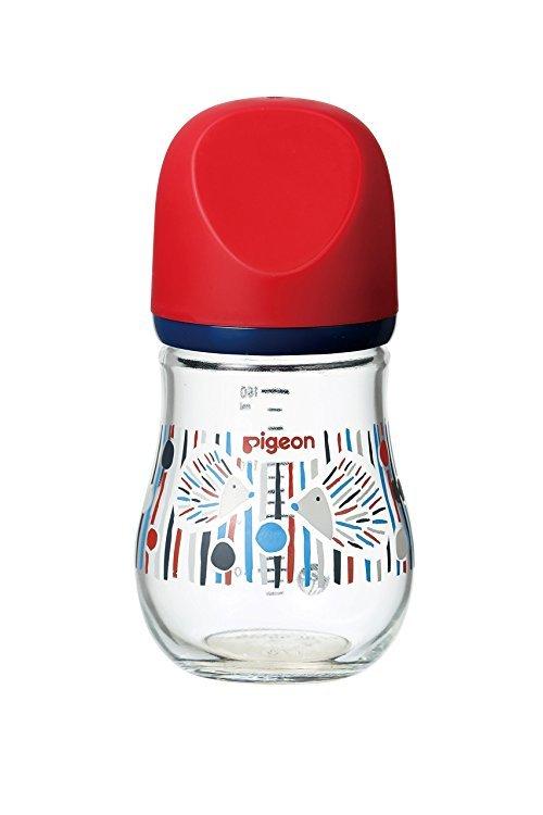 Pigeon 贝亲 17年新款 玻璃奶瓶 160ml 2579日元(约153.97元)