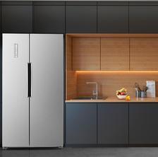 ¥2299 Homa 奥马 BCD-452WK 452升 对开门冰箱