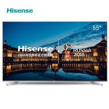 海信(Hisense) LED55EC550UA 55英寸 4K智能液晶电视 2799元