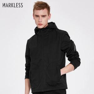 耐克制造商专做夹克 Markless 春秋款 男运动夹克 衬里加绒 188元包邮
