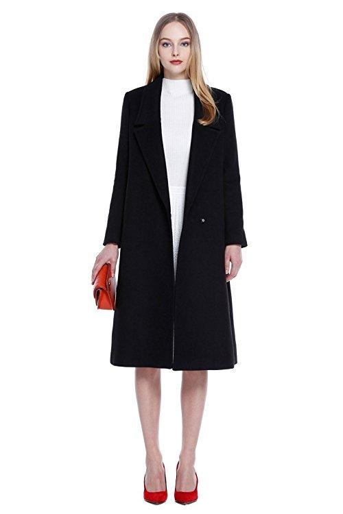 507元 限尺码:欧时力(ochirly) 1HY3343690 女士羊毛混纺大衣