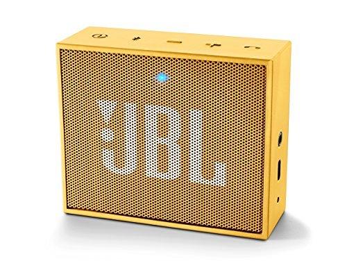 JBL GO Bluetoothスピーカー ポータブル イエロー JBLGOYEL