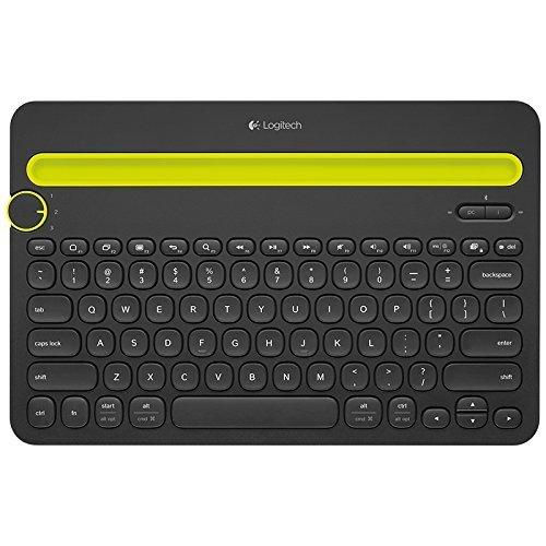 罗技(Logitech) 多功能智能设备 蓝牙键盘K480-黑 支持Ipad158.99元