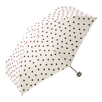w.p.c. 心形图案爱心折叠伞雨伞 7.9折 JPY¥2356(¥123)